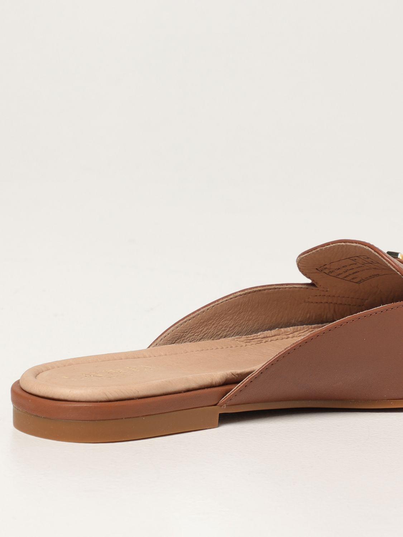 Flat shoes Lauren Ralph Lauren: Lauren Ralph Lauren flat mules in leather leather 3