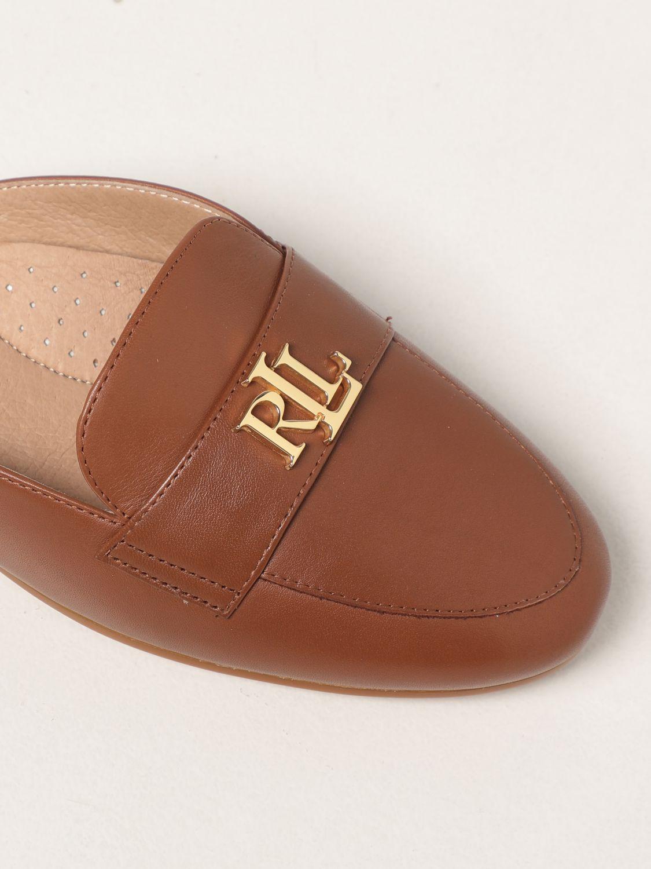Flat shoes Lauren Ralph Lauren: Lauren Ralph Lauren flat mules in leather leather 4
