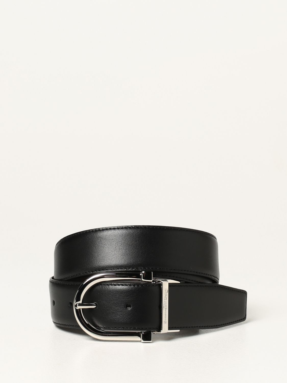 Cinturón Ermenegildo Zegna: Cinturón hombre Ermenegildo Zegna negro 1