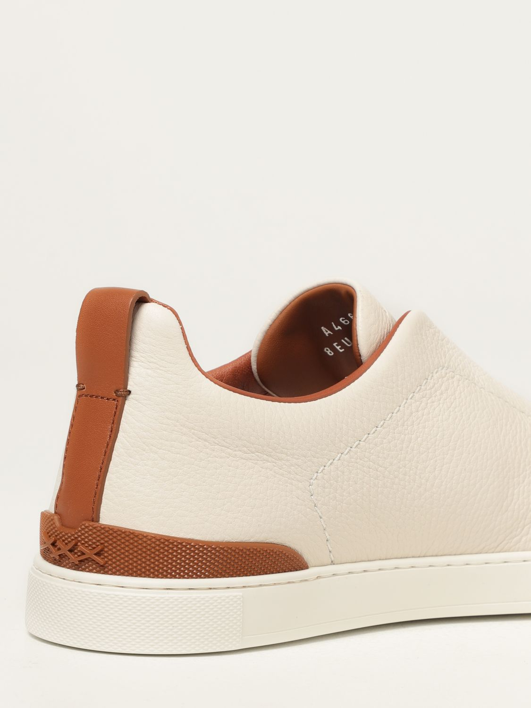 Zapatillas Ermenegildo Zegna: Zapatos hombre Ermenegildo Zegna blanco 3