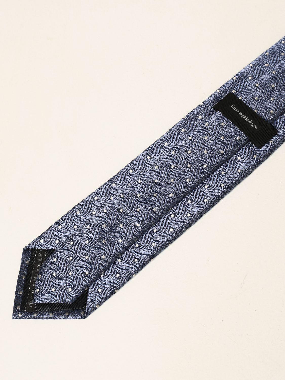 Cravatta Ermenegildo Zegna: Cravatta Ermenegildo Zegna in seta blue 2