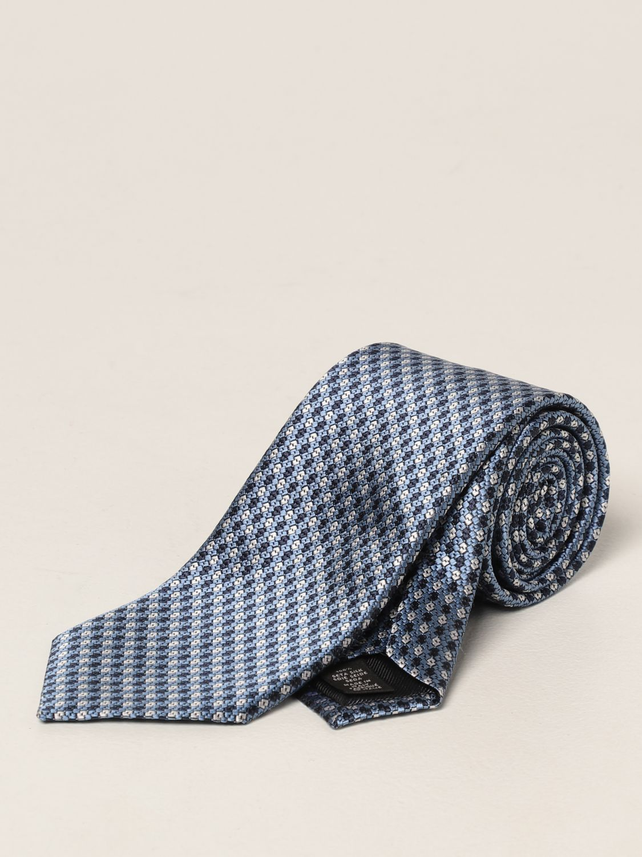 Cravatta Ermenegildo Zegna: Cravatta Ermenegildo Zegna in seta blue 1