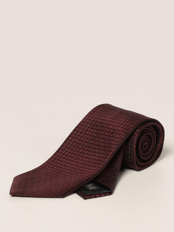 Cravatta Ermenegildo Zegna: Cravatta Ermenegildo Zegna in seta rosso 1