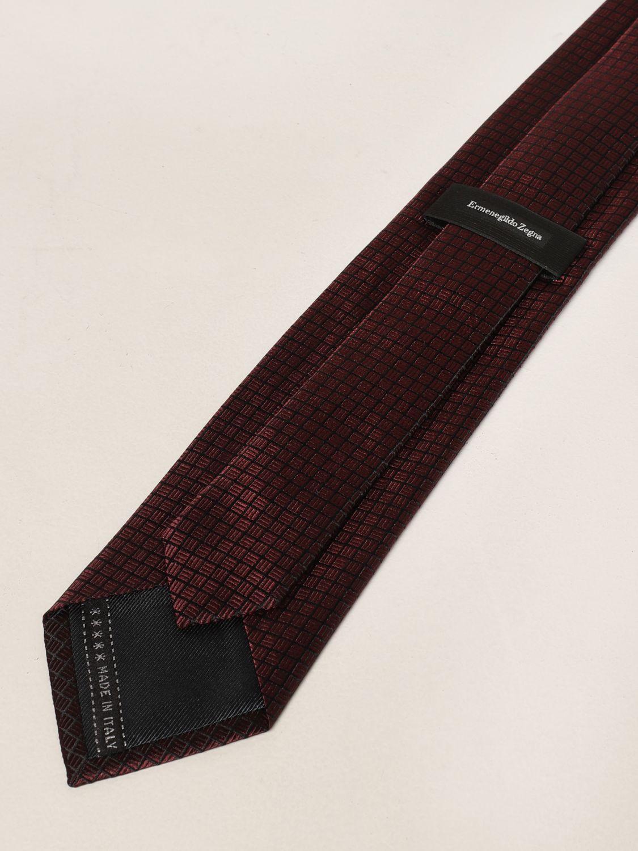 Cravatta Ermenegildo Zegna: Cravatta Ermenegildo Zegna in seta rosso 2