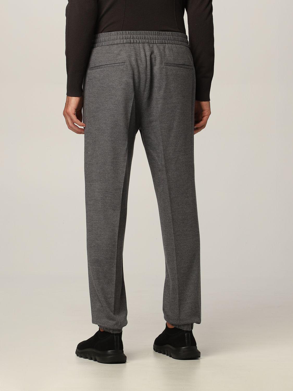 Pantalone Ermenegildo Zegna: Pantalone jogging Ermenegildo Zegna in jersey lana grigio 2