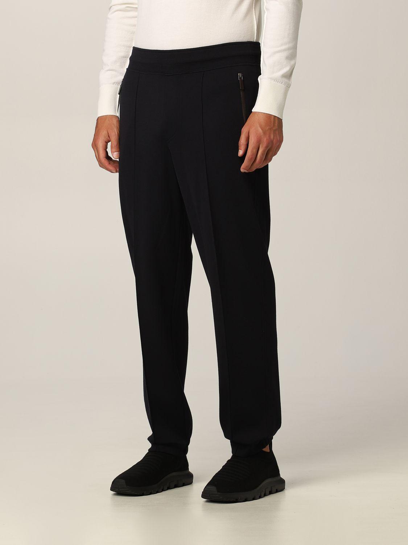 Pantalone Ermenegildo Zegna: Pantalone Ermenegildo Zegna in lana blue 3