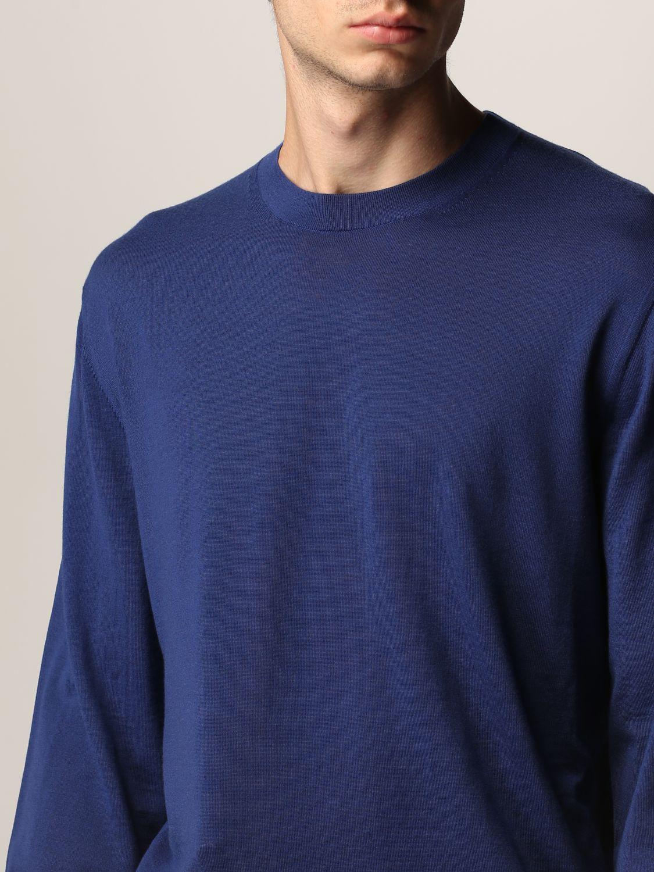 Jersey Z Zegna: Jersey hombre Z Zegna azul oscuro 5