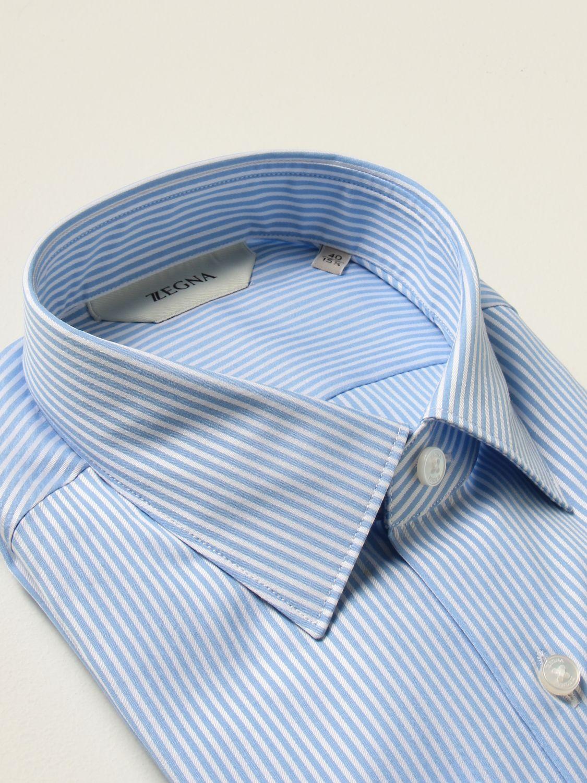 Camisa Z Zegna: Camisa hombre Z Zegna azul claro 2