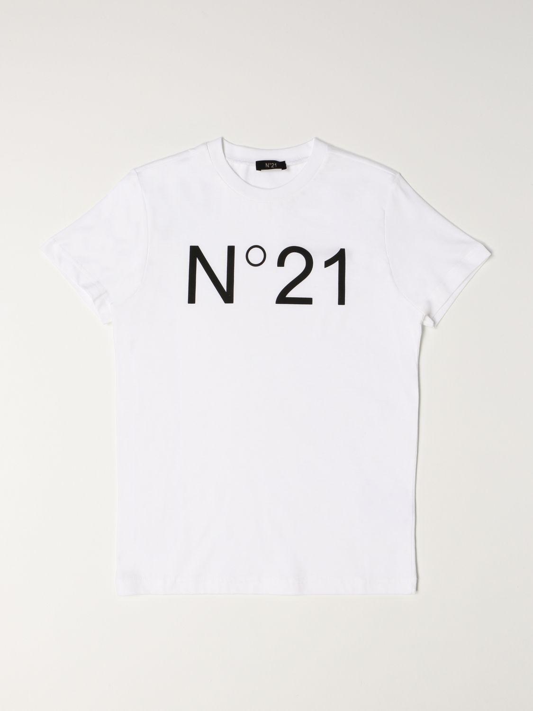 Футболка N° 21: Футболка Детское N° 21 белый 1