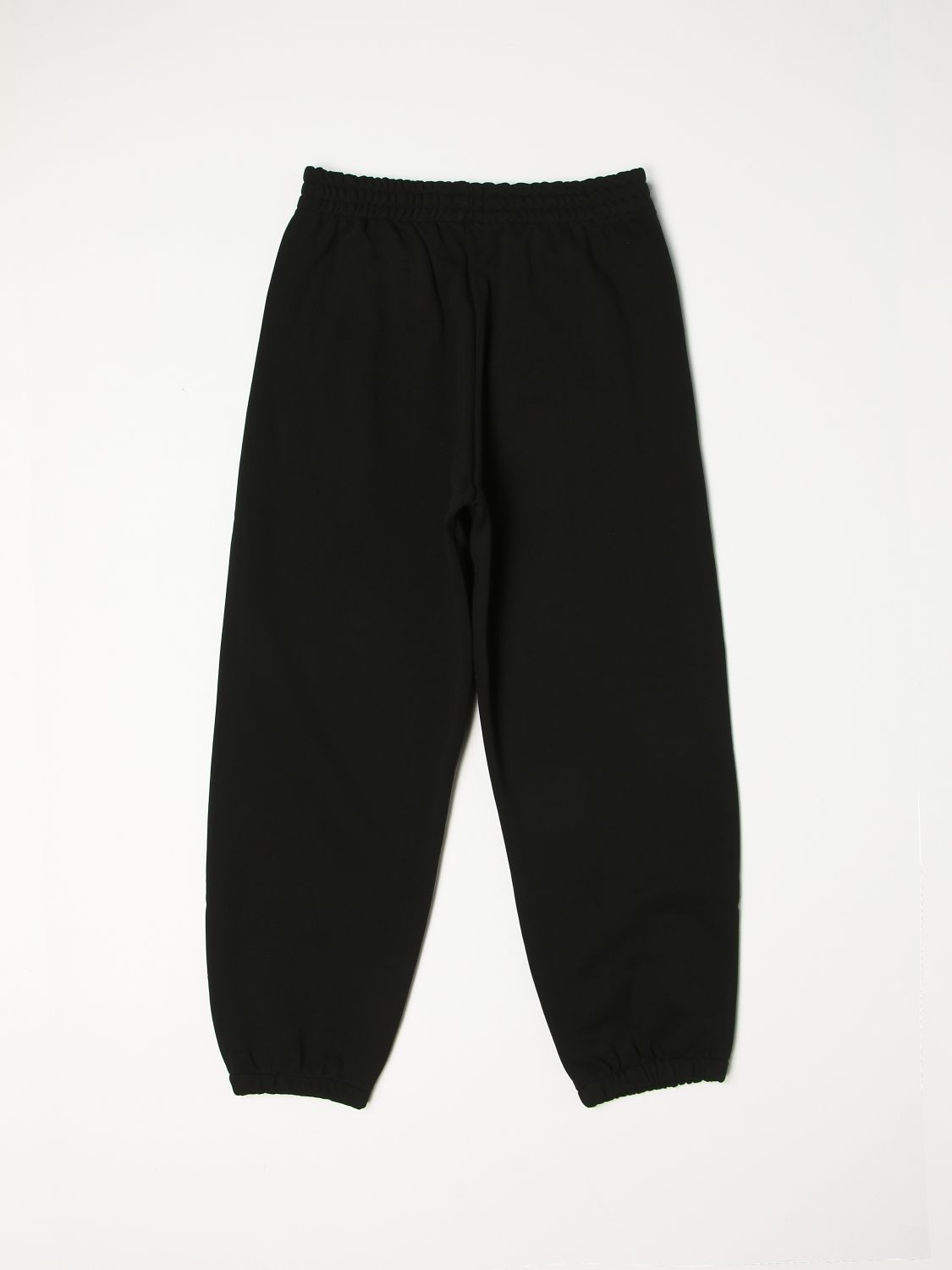 Trousers N° 21: N ° 21 jogging trousers with rubberized logo black 2