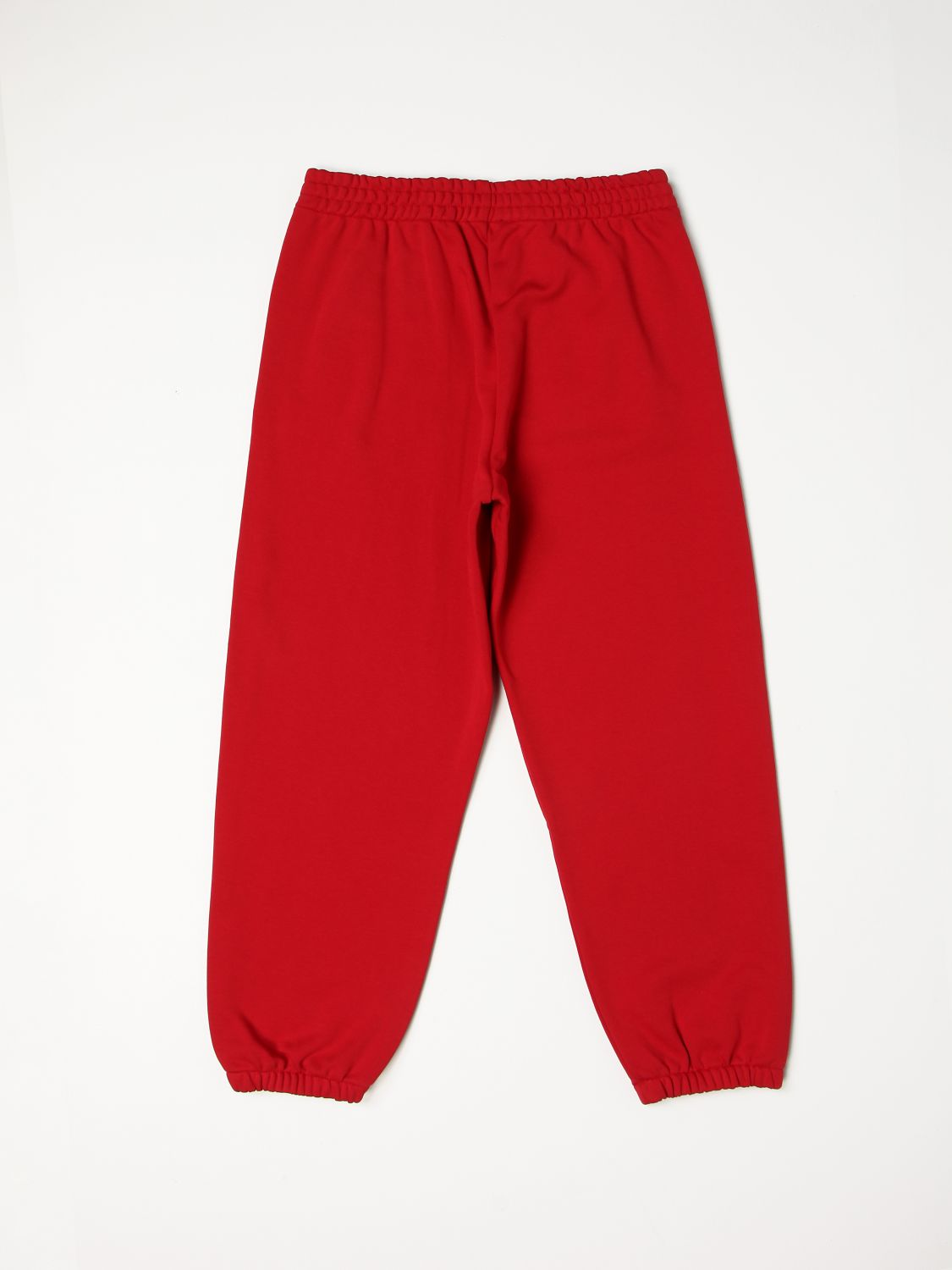 Trousers N° 21: N ° 21 jogging trousers with rubberized logo red 2
