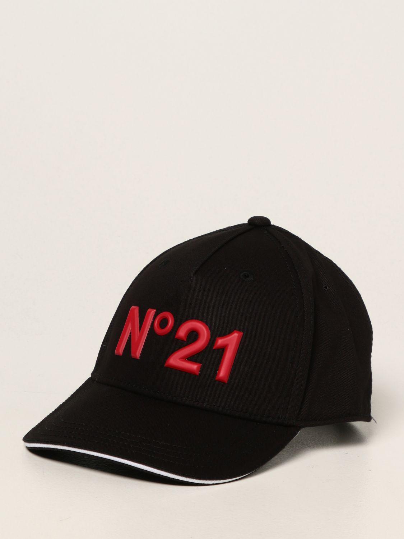 Hat N° 21: Hat kids N° 21 black 1