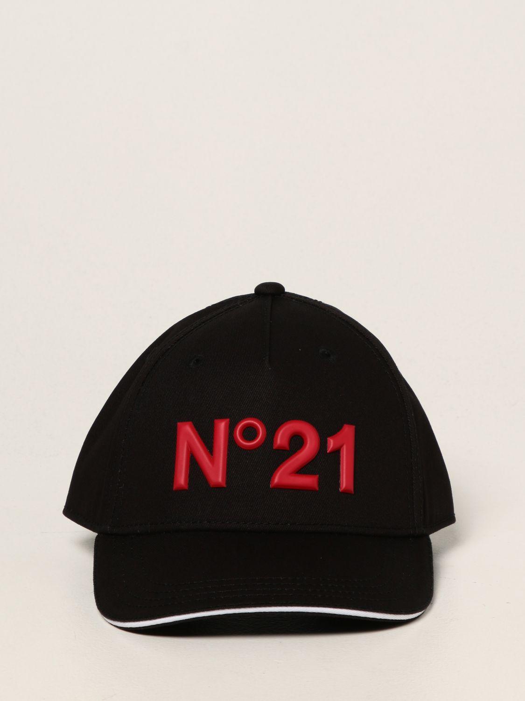 Hat N° 21: Hat kids N° 21 black 2
