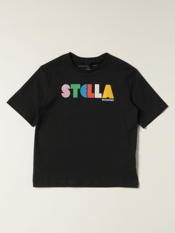 T-shirt Stella Mccartney: Stella McCartney cotton T-shirt black 1