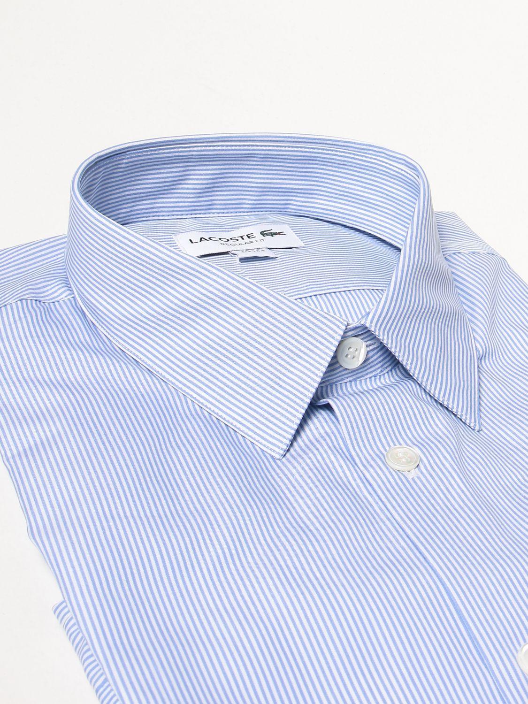 Camisa Lacoste: Camisa hombre Lacoste azul claro 2