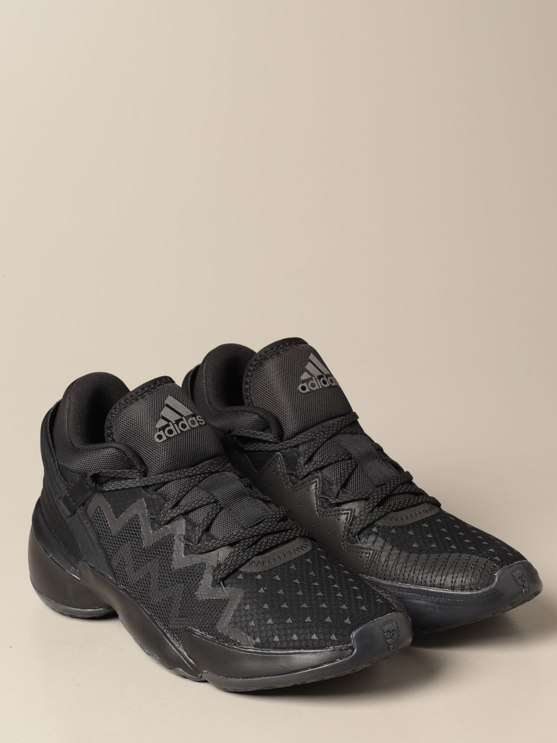 Trainers Adidas Originals: Sneakers D.O.N. Issue 2 Adidas Originals in technical fabric black 2