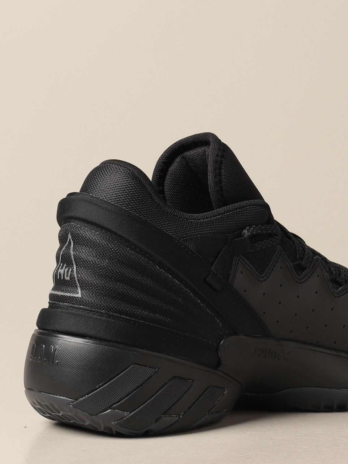 Trainers Adidas Originals: Sneakers D.O.N. Issue 2 Adidas Originals in technical fabric black 3