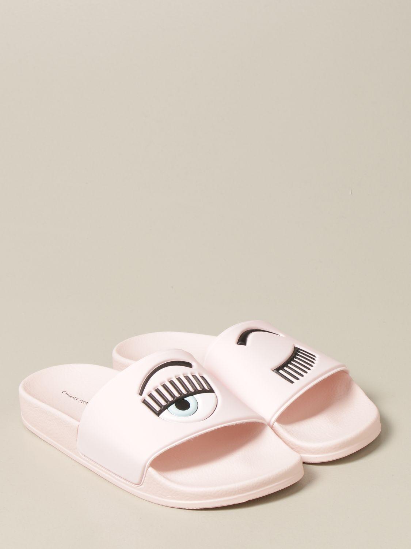 Zapatos Chiara Ferragni: Zapatos niños Chiara Ferragni rosa 2