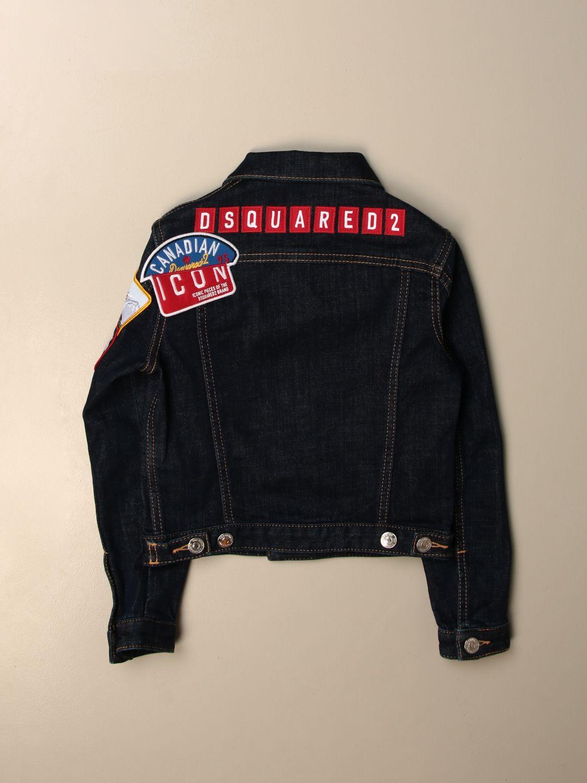 Куртка Dsquared2 Junior: Блейзер Детское Dsquared2 Junior синий 2