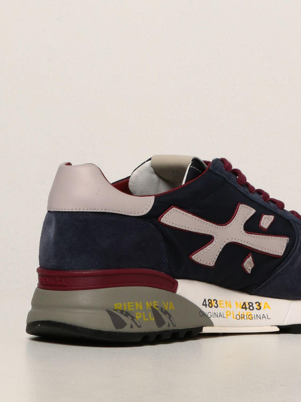 Sneakers Premiata: Sneakers Mick Premiata in nylon e camoscio blue 3