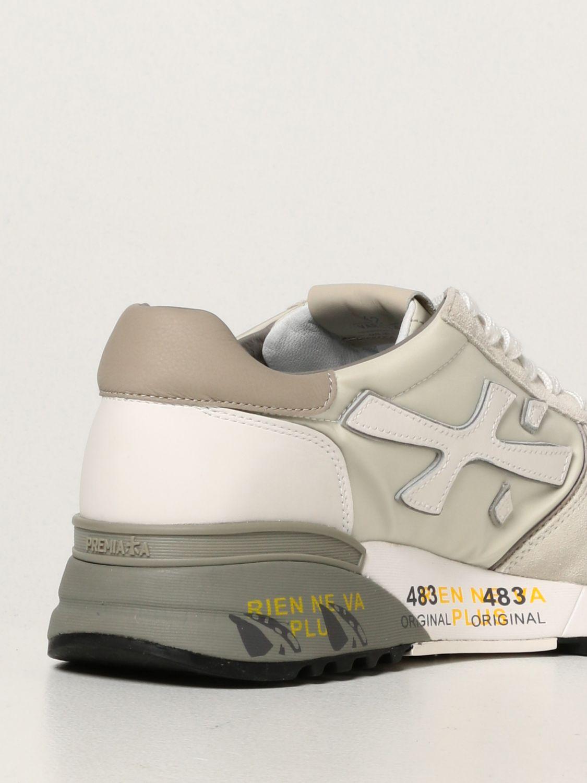 Sneakers Premiata: Sneakers Mick Premiata in nylon e camoscio bianco 3