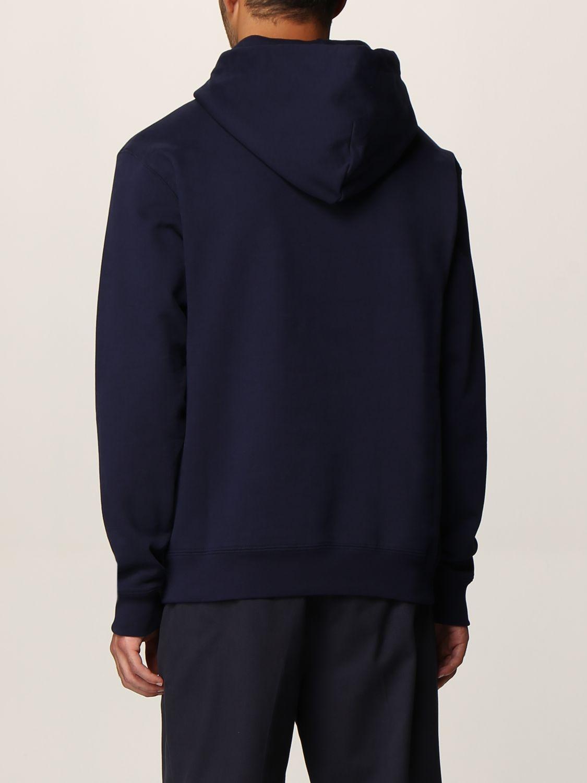 Felpa Robe Di Kappa: Girocollo con cappuccio basic blue 2