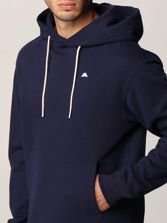 Felpa Robe Di Kappa: Girocollo con cappuccio basic blue 3