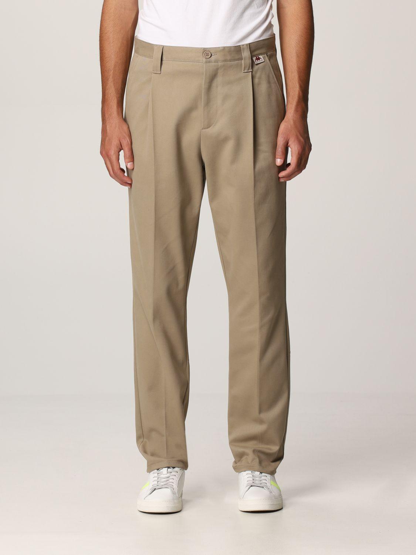 Pantalone Robe Di Kappa: Tasche america cotone con pince beige 1