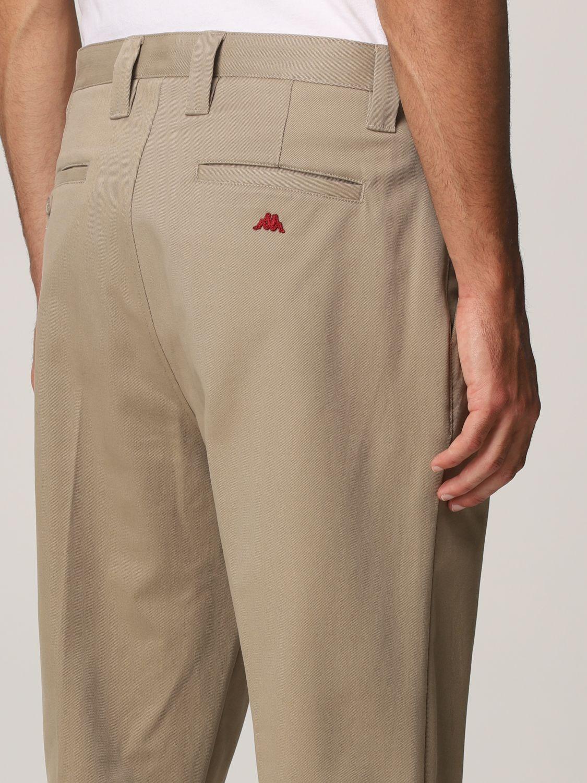 Pantalone Robe Di Kappa: Tasche america cotone con pince beige 3