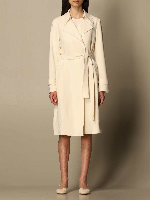 Coat Theory: Coat women Theory yellow cream 1