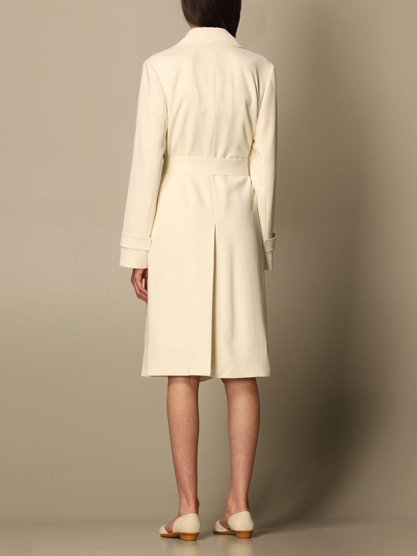 Coat Theory: Coat women Theory yellow cream 3