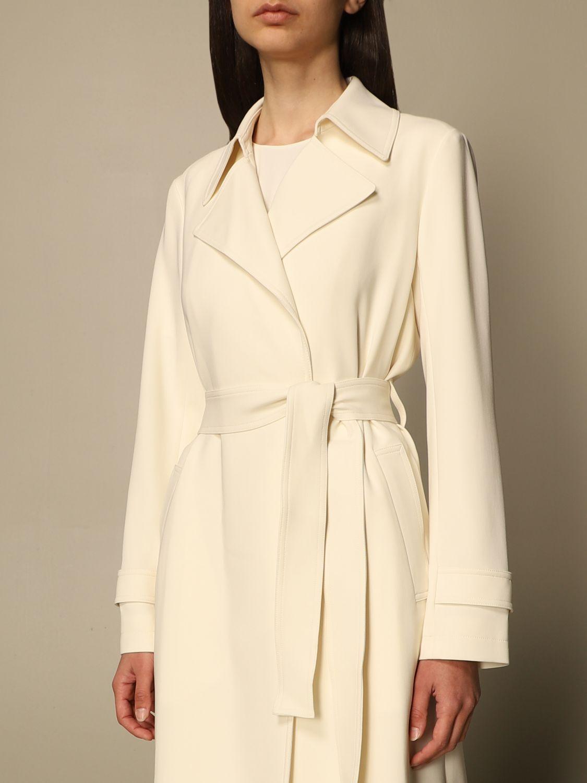 Coat Theory: Coat women Theory yellow cream 4