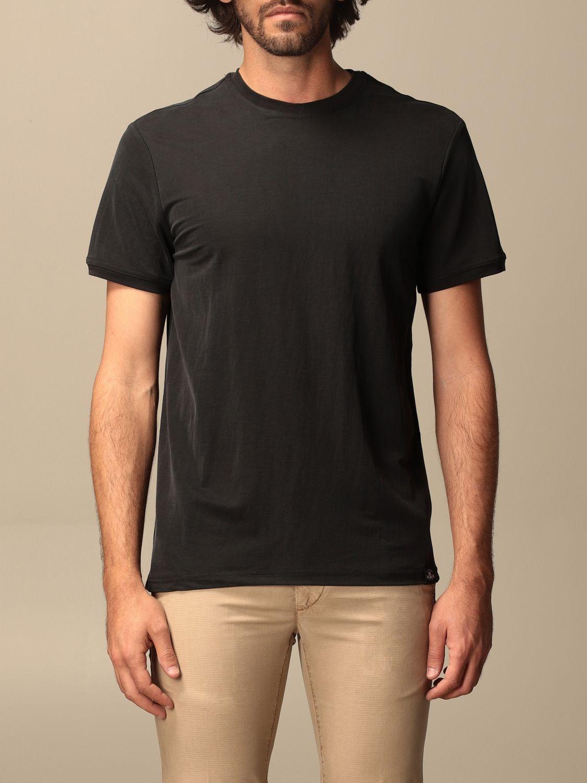 T-shirt Museum: T-shirt basic Museum in cotone nero 1