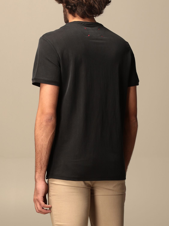T-shirt Museum: T-shirt basic Museum in cotone nero 2