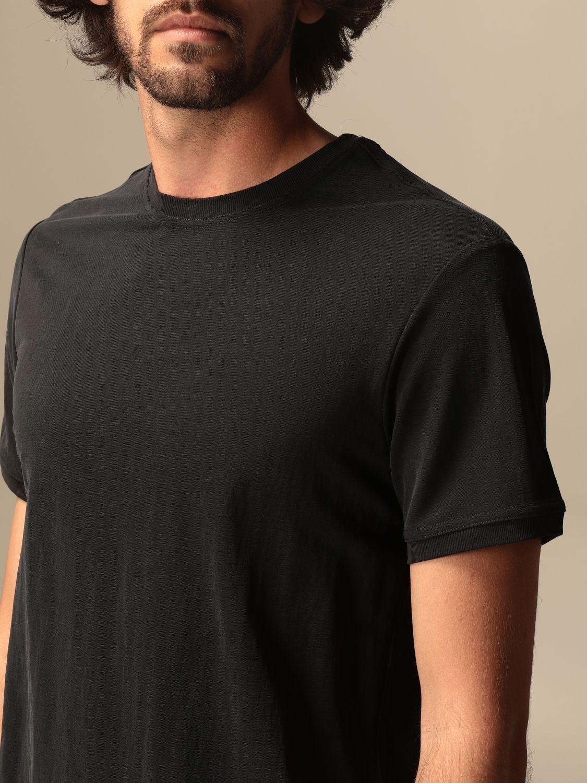 T-shirt Museum: T-shirt basic Museum in cotone nero 3