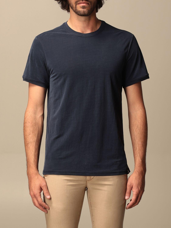 T-shirt Museum: T-shirt basic Museum in cotone blue 1