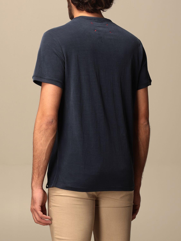 T-shirt Museum: T-shirt basic Museum in cotone blue 2