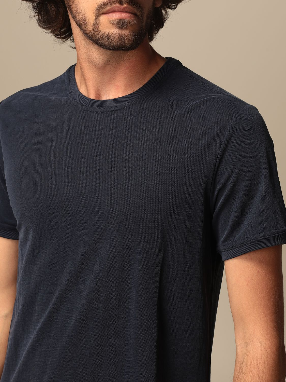 T-shirt Museum: T-shirt basic Museum in cotone blue 3