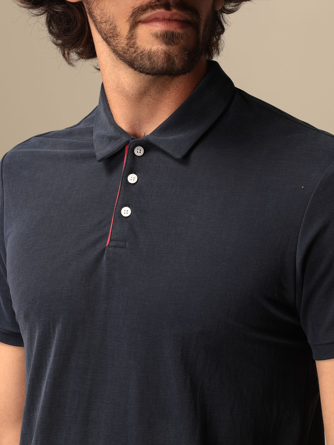 Polo Museum: Polo Museum in cotone basic blue 3
