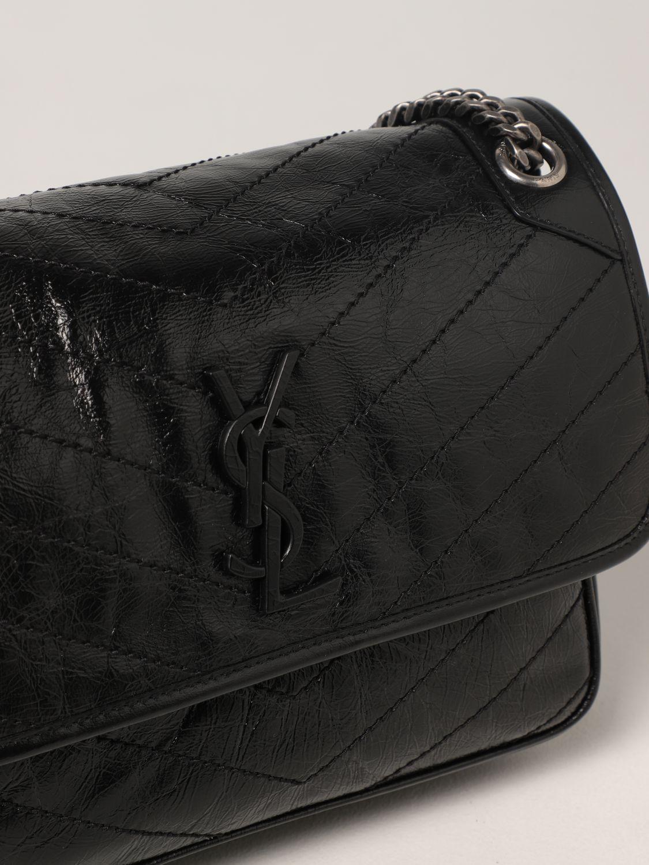 Borsa a spalla Saint Laurent: Borsa Niki Saint Laurent in pelle nero 4
