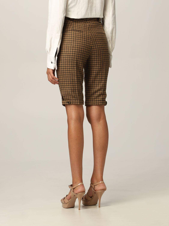 Pantaloncino Saint Laurent: Pantaloncino Saint Laurent in lana cammello 3