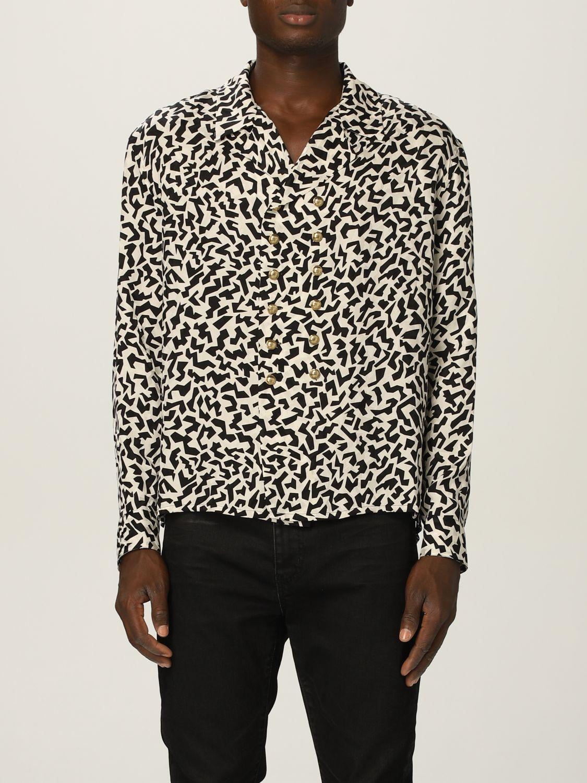 Camisa Saint Laurent: Camisa hombre Saint Laurent negro 1