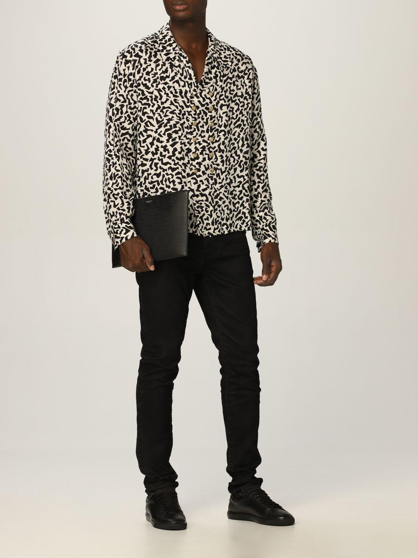 Camisa Saint Laurent: Camisa hombre Saint Laurent negro 2