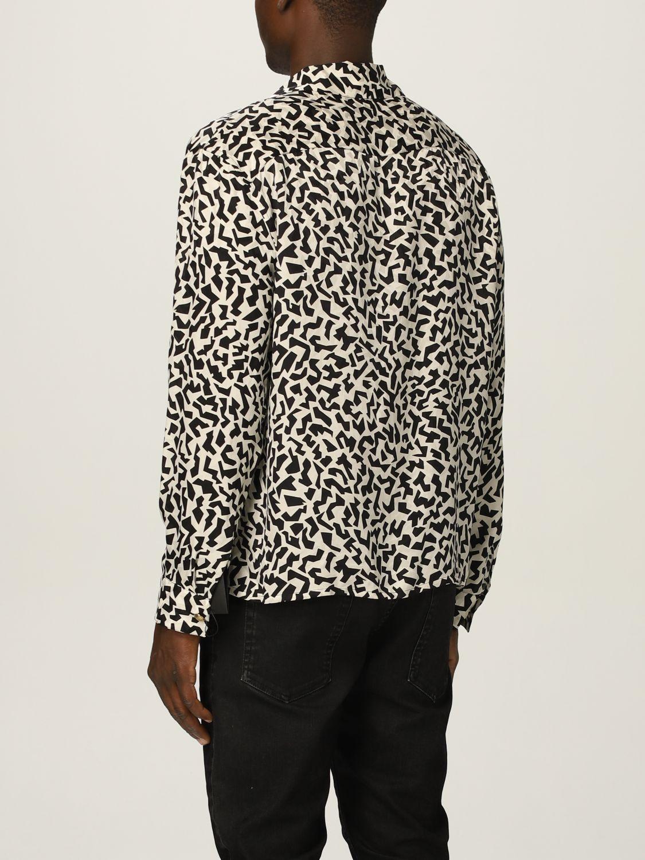 Camisa Saint Laurent: Camisa hombre Saint Laurent negro 3
