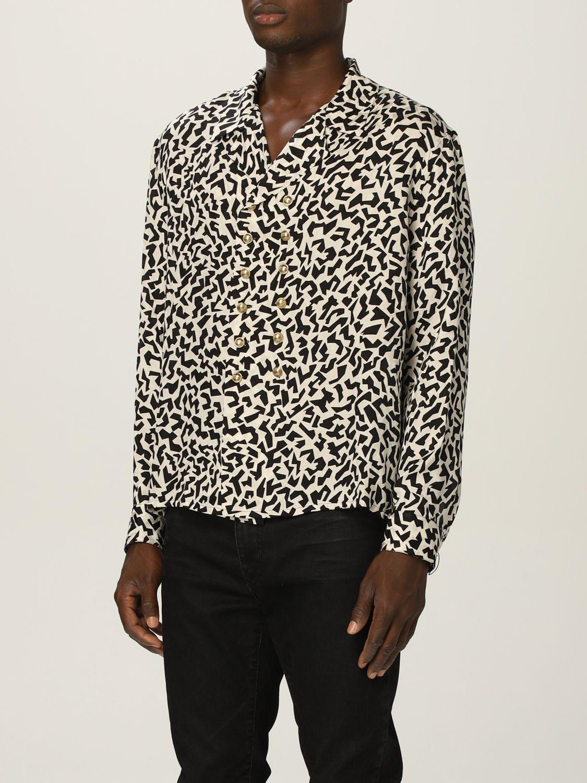 Camisa Saint Laurent: Camisa hombre Saint Laurent negro 4