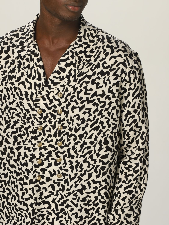 Camisa Saint Laurent: Camisa hombre Saint Laurent negro 5