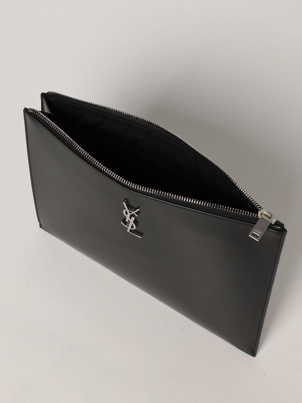 Portadocumenti Saint Laurent: Pochette Saint Laurent in pelle nero 5