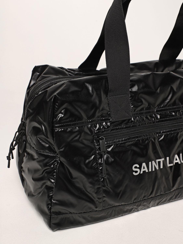 Valigia Saint Laurent: Borsone Nuxx Duffle Saint Laurent in nylon nero 4
