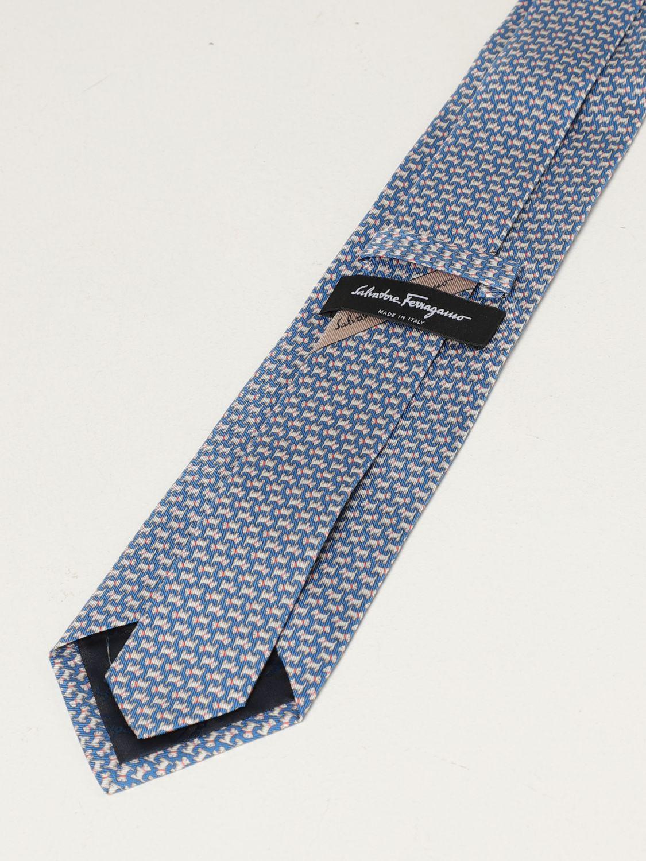Cravatta Salvatore Ferragamo: Cravatta Salvatore Ferragamo in seta blue 2