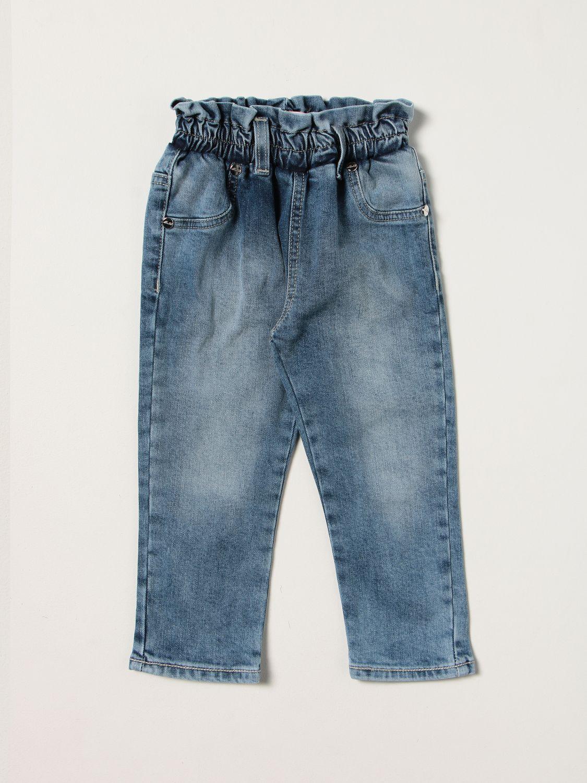 Jeans Miss Blumarine: Jeans kids Miss Blumarine denim 1
